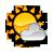 Ikona - Słońce + 1 chmura